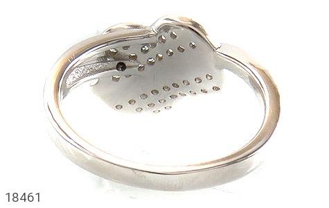 انگشتر نقره طرح مهرسا زنانه - تصویر 4