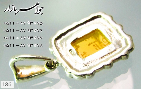 مدال عقیق حکاکی شرف الشمس - تصویر 4