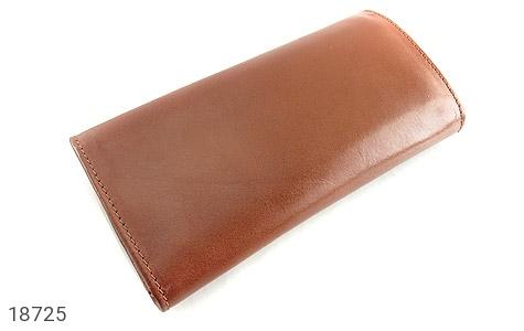 کیف چرم طبیعی دستی شیک رنک قهوه ای - عکس 3