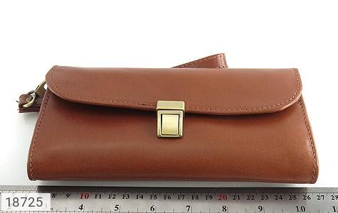 کیف چرم طبیعی دستی شیک رنک قهوه ای - تصویر 6