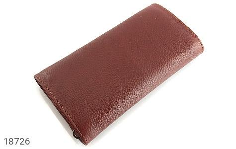 کیف چرم طبیعی دستی شیک و زیبا قهوه ای - عکس 5