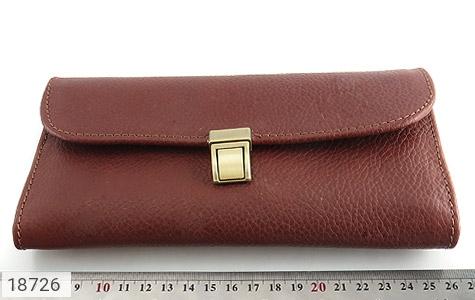 کیف چرم طبیعی دستی شیک و زیبا قهوه ای - تصویر 6