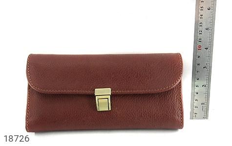 کیف چرم طبیعی دستی شیک و زیبا قهوه ای - عکس 7