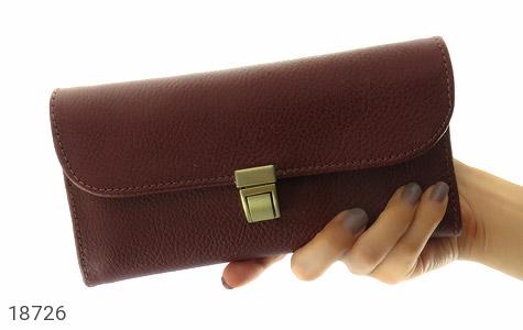 کیف چرم طبیعی دستی شیک و زیبا قهوه ای - تصویر 8