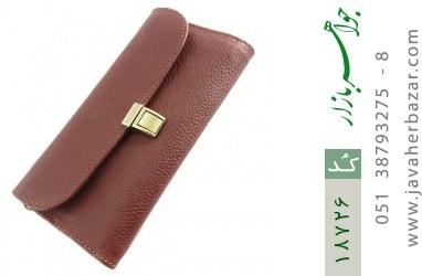کیف چرم طبیعی دستی شیک و زیبا قهوه ای - کد 18726