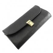 کیف چرم طبیعی دستی شیک و زیبا مشکی