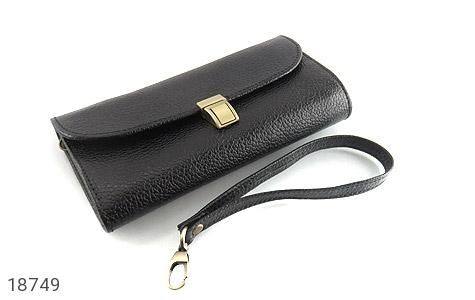 کیف چرم طبیعی دستی شیک و زیبا مشکی - عکس 5