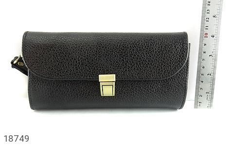 کیف چرم طبیعی دستی شیک و زیبا مشکی - تصویر 6