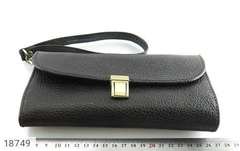 کیف چرم طبیعی دستی شیک و زیبا مشکی - عکس 7
