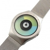 ساعت زیرو ziiiro celeste بندحصیری زمان با تغییر رنگ صفحه