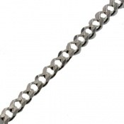 زنجیر نقره حلقه ای طرح اسپرت