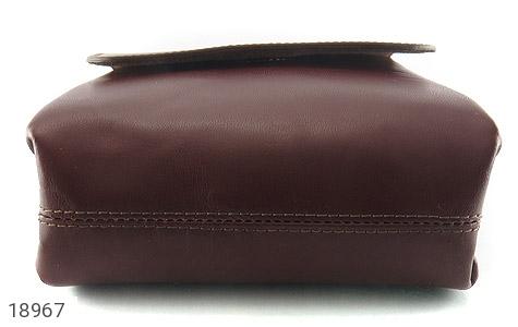 کیف چرم طبیعی قهوه ای مدل دوشی اسپرت - تصویر 4