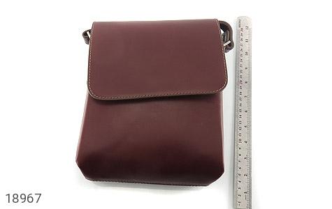 کیف چرم طبیعی قهوه ای مدل دوشی اسپرت - تصویر 6