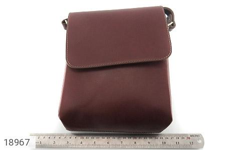 کیف چرم طبیعی قهوه ای مدل دوشی اسپرت - عکس 7