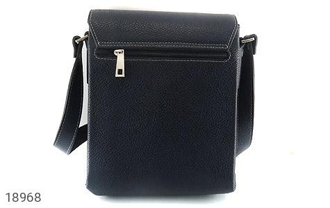کیف چرم طبیعی مشکی طرح دوشی اسپرت - عکس 5