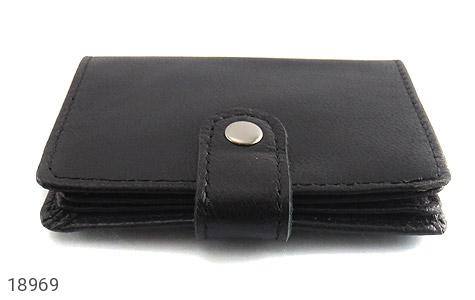 کیف چرم طبیعی مشکی کیف جاکارتی - عکس 3