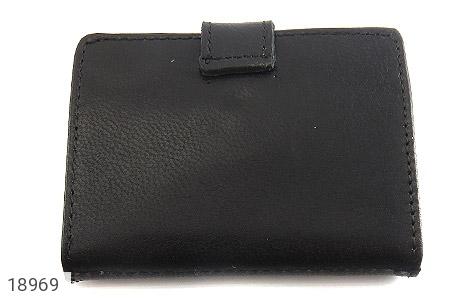 کیف چرم طبیعی مشکی کیف جاکارتی - تصویر 6