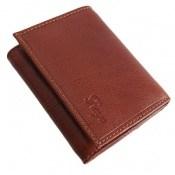 کیف چرم طبیعی قوه ای روشن طرح جیبی