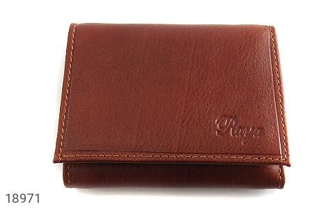 کیف چرم طبیعی قوه ای روشن طرح جیبی - تصویر 2