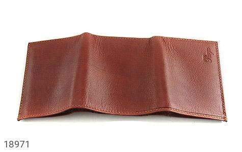 کیف چرم طبیعی قوه ای روشن طرح جیبی - تصویر 4