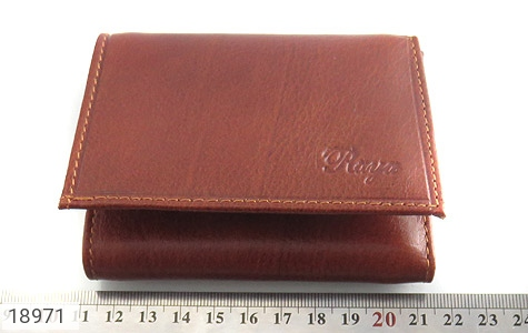 کیف چرم طبیعی قوه ای روشن طرح جیبی - تصویر 6