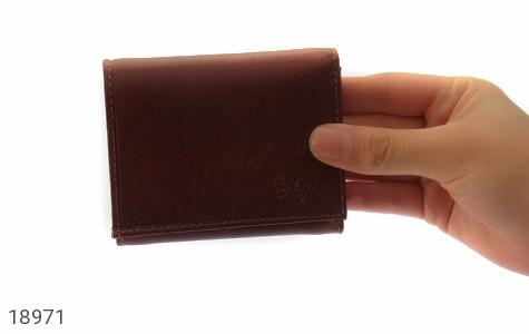 کیف چرم طبیعی قوه ای روشن طرح جیبی - عکس 7