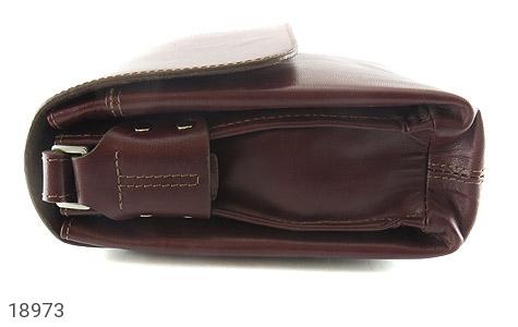 کیف چرم طبیعی دوشی مدل قفل مگنتی - عکس 3