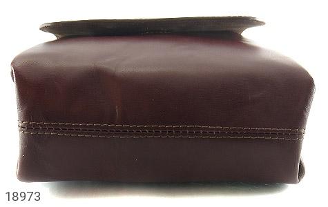 کیف چرم طبیعی دوشی مدل قفل مگنتی - تصویر 4