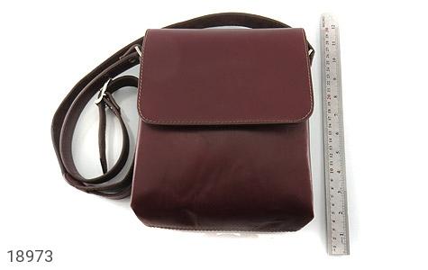 کیف چرم طبیعی دوشی مدل قفل مگنتی - عکس 7