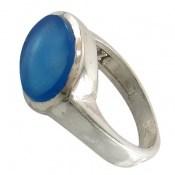 انگشتر عقیق آبی صفوی طرح فرهان مردانه