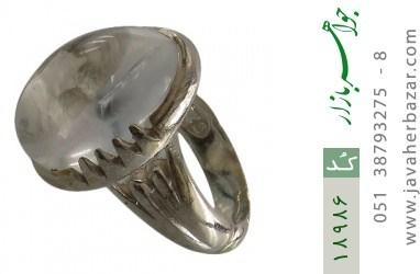 انگشتر دُر نجف دامله درشت و ارزشمند مردانه - کد 18986