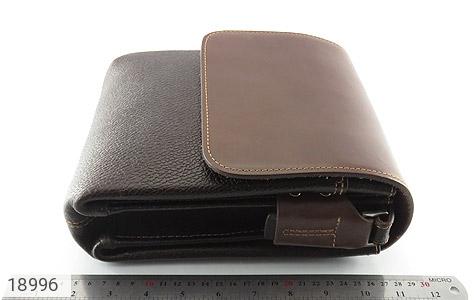 کیف چرم طبیعی مدل دوشی دو رنگ - عکس 5