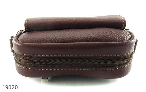 کیف چرم طبیعی قهوه ای تیره - عکس 3
