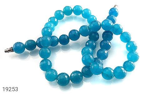 سینه ریز جید آبی زیبا و خوش تراش زنانه - عکس 1