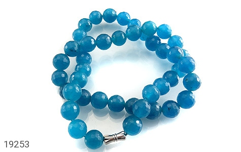 سینه ریز جید آبی زیبا و خوش تراش زنانه - تصویر 2