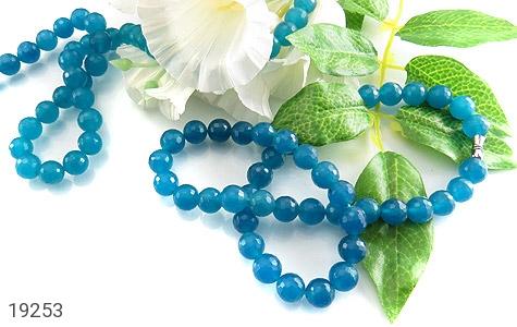 سینه ریز جید آبی زیبا و خوش تراش زنانه - تصویر 4