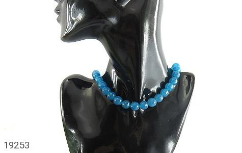 سینه ریز جید آبی زیبا و خوش تراش زنانه - تصویر 6