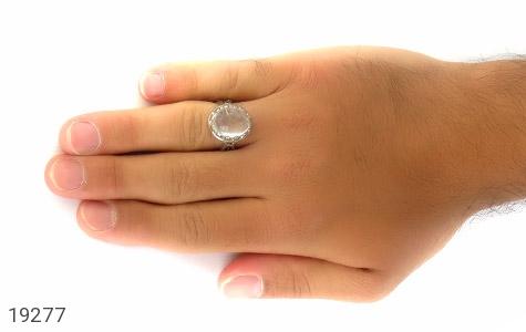 انگشتر دُر نجف درشت مردانه - تصویر 6