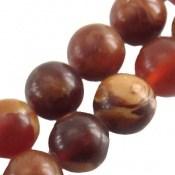 تسبیح سندلوس معطر لبنانی گرد 33 دانه