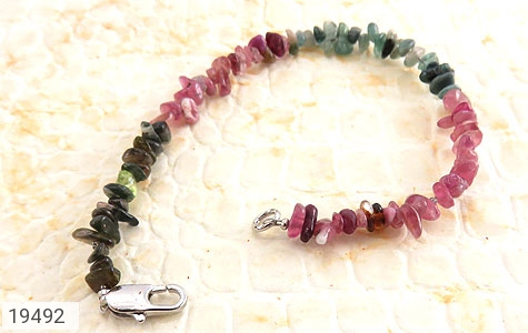 دستبند یاقوت و زبرجد و زمرد جذاب زنانه - تصویر 2