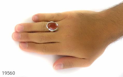 انگشتر دلربا درشت و درخشان مردانه - عکس 7