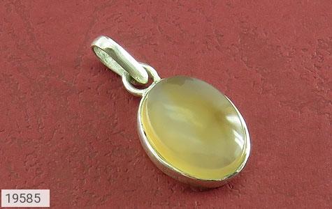مدال عقیق یمن حکاکی شرف الشمس فریم دست ساز - عکس 1