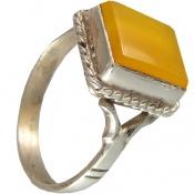 انگشتر عقیق زرد شرف الشمس