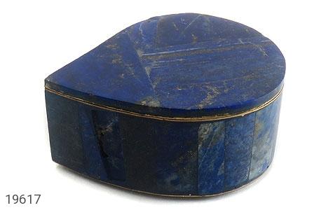 جعبه جواهر لاجورد طرح اشکی - تصویر 2