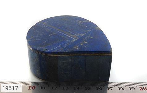 جعبه جواهر لاجورد طرح اشکی - تصویر 6