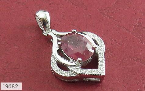 مدال یاقوت سرخ طرح ثنا زنانه - عکس 1