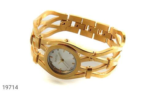 ساعت گوچی Gucci طلائی مجلسی زنانه - عکس 1