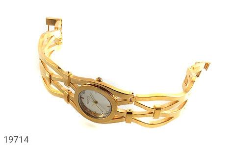 ساعت گوچی Gucci طلائی مجلسی زنانه - تصویر 2