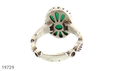 انگشتر عقیق سبز طرح یاسین مردانه - تصویر 4