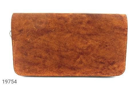کیف چرم طبیعی قهوه ای ابروبادی دستی طرح کلاسیک - تصویر 2